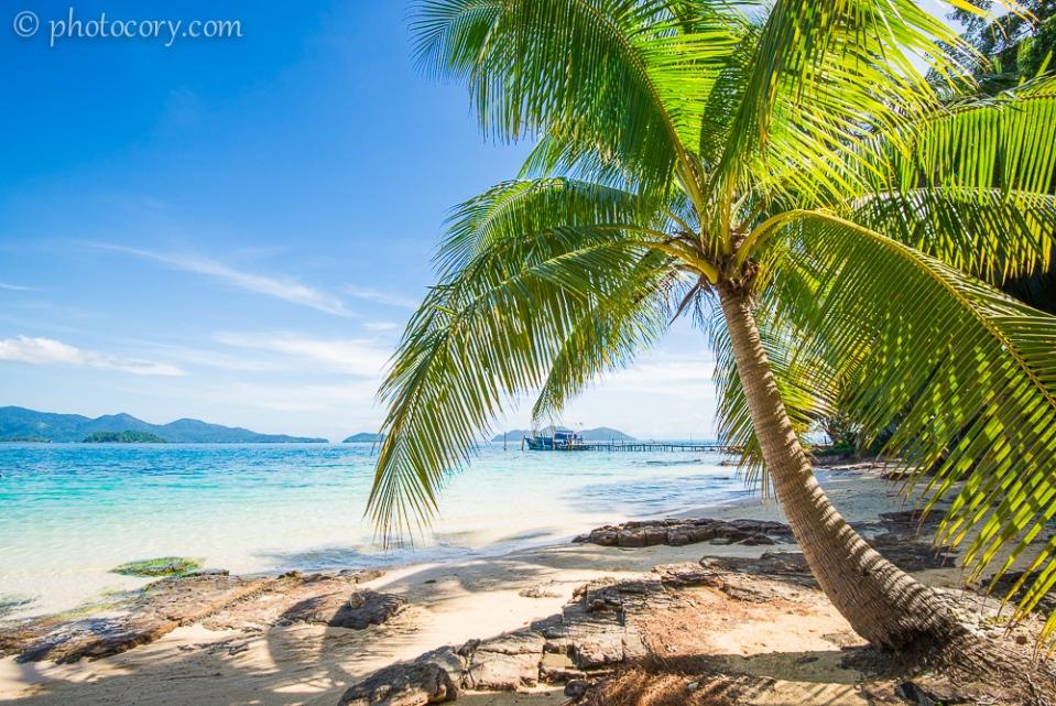 Beach Koh Wai Thailand