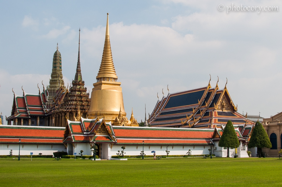 Grand Palace viewed from outside