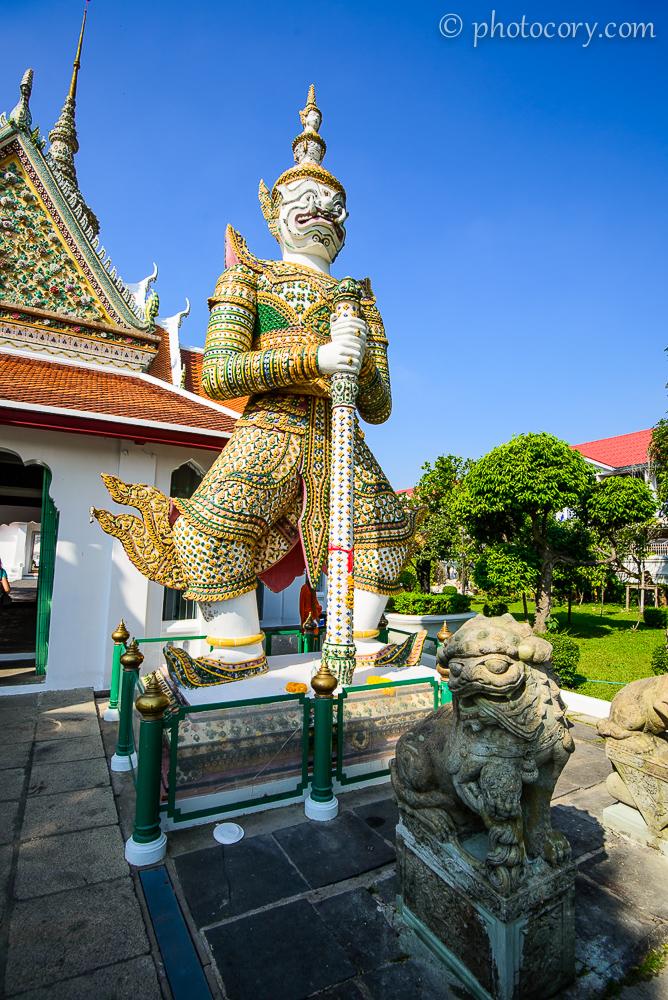 Guardian at Wat Arun