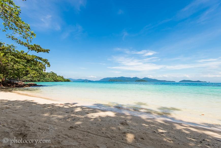 Koh wai beach thailand