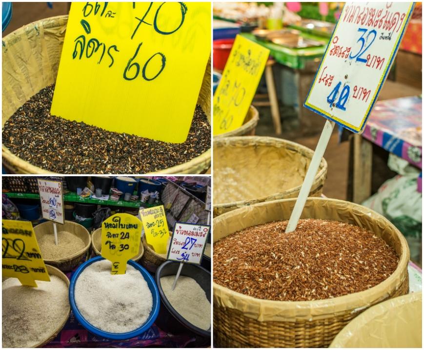 So many types of rice! Sticky, non sticky, brown, black, long grain, short grain...