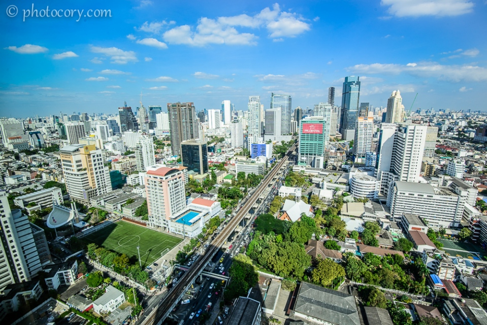 View over bangkok
