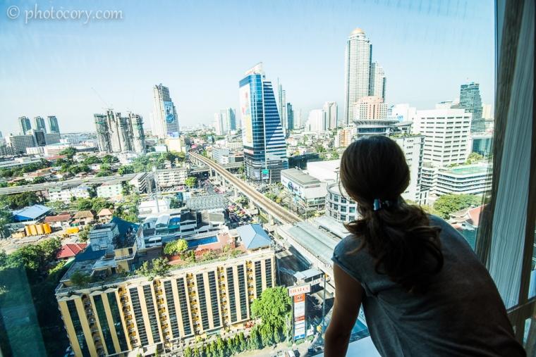 Admiring the view/M-a furat peisajul, ca sa zic asa