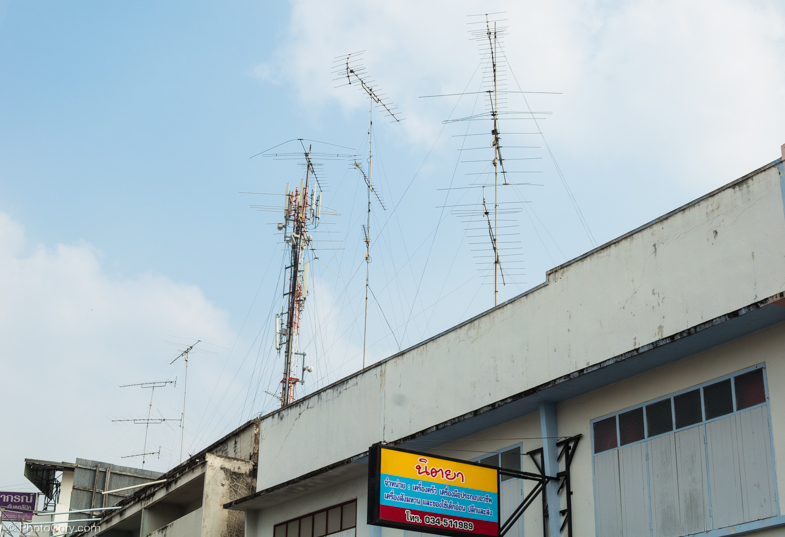 antennas thailand kanchanaburi