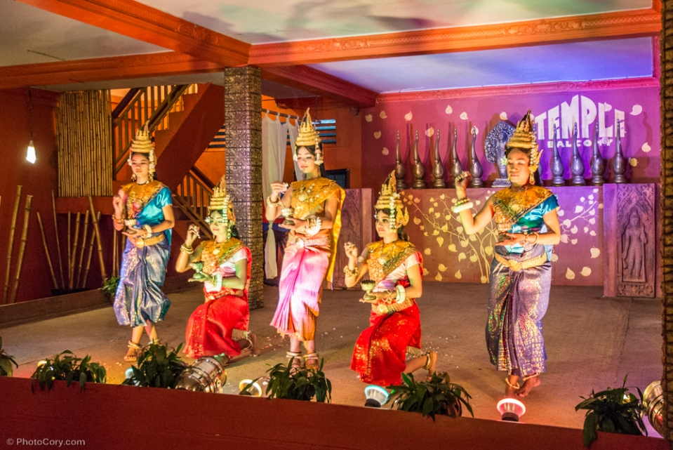 Apsara dance performance/ Dans traditional Apsara