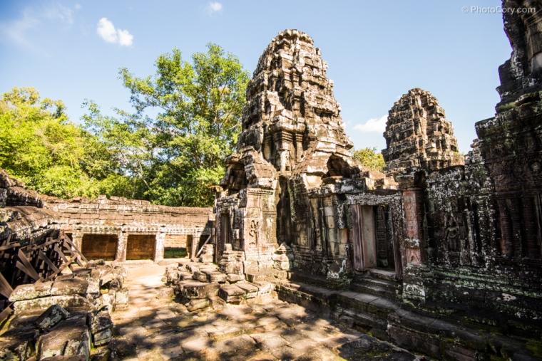 banteay kdei at angkor