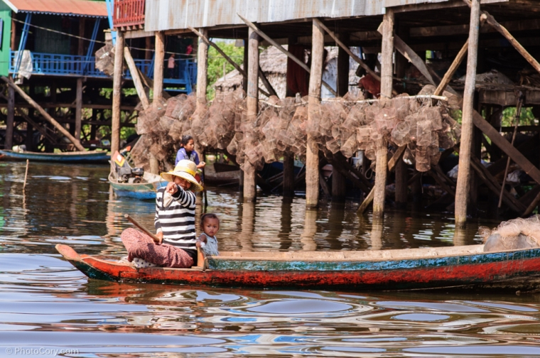 boat Kompong Phluk Cambodia