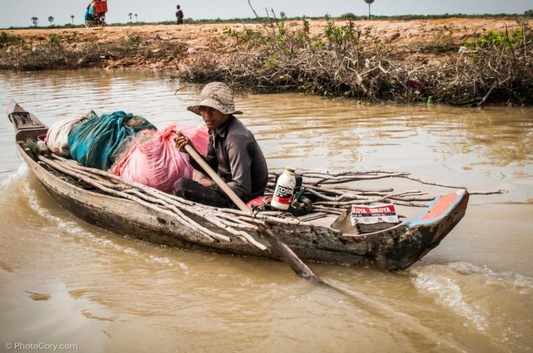 boat Kompong Phluk