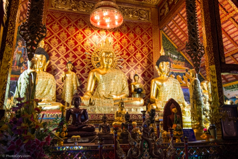 buddhas temple thailand