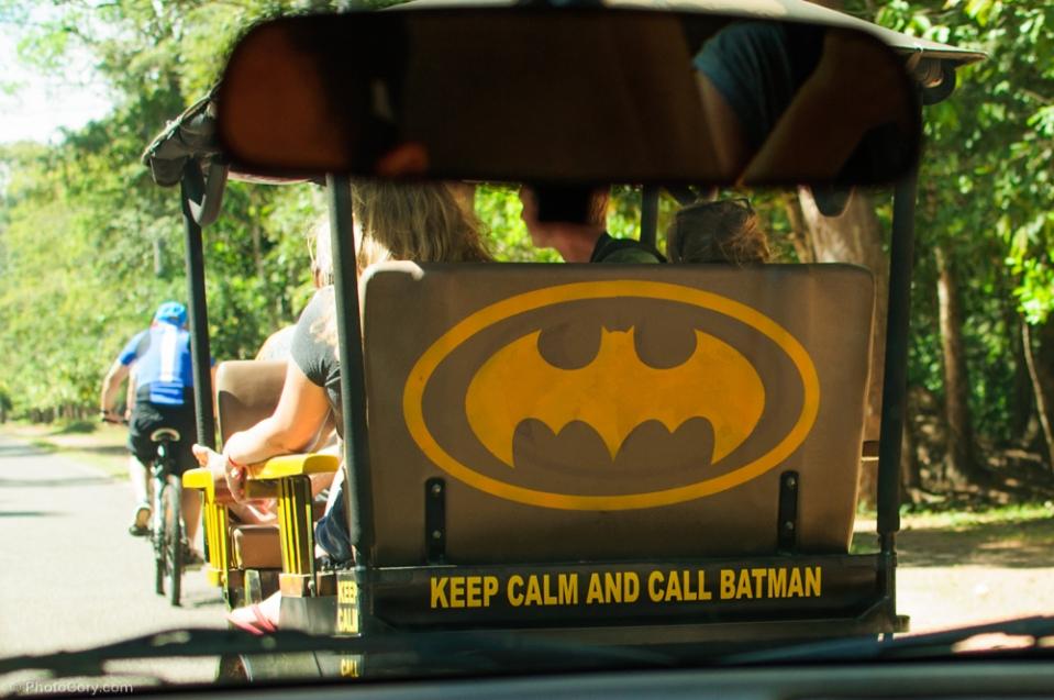call batman tuk tuk