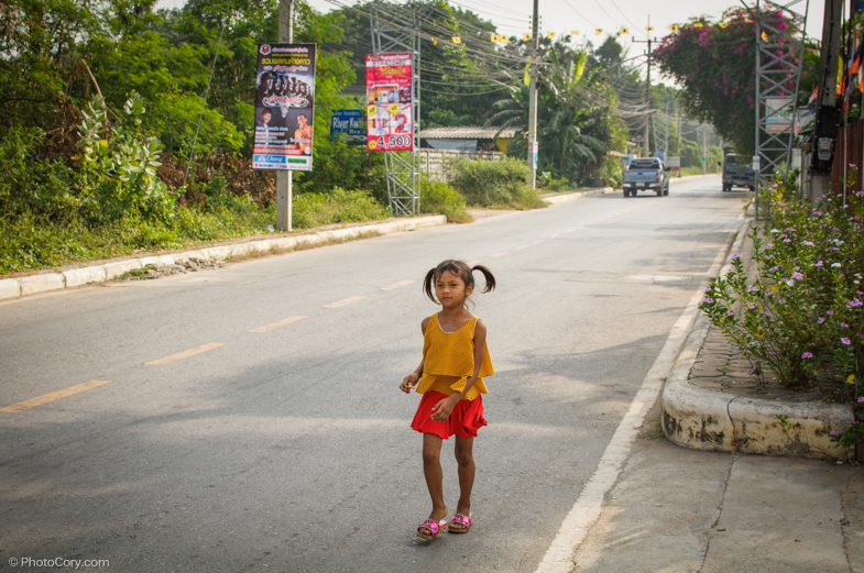 girl in kanchanaburi