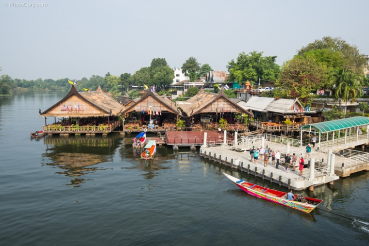 houses on river Kwai