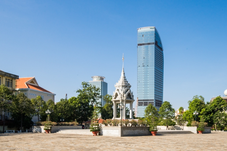 A nice view of Phnom Pehn