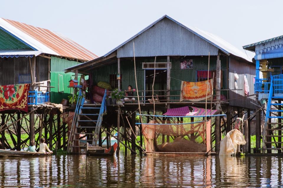 Kompong Phluk house