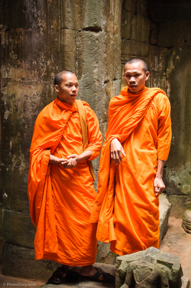 monks preah khan