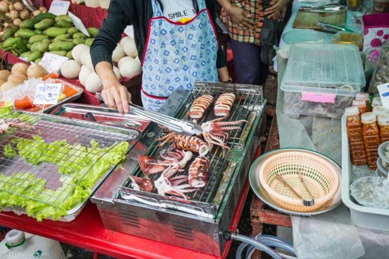 octopus street food
