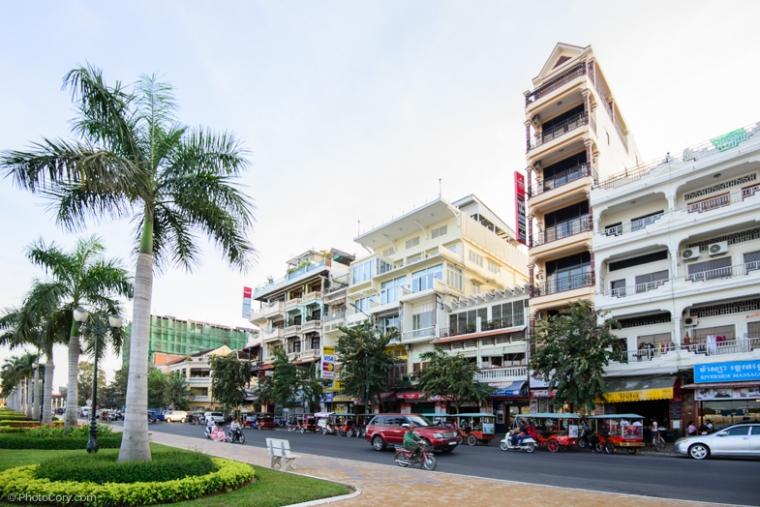 Architecture in Phnom Pehn