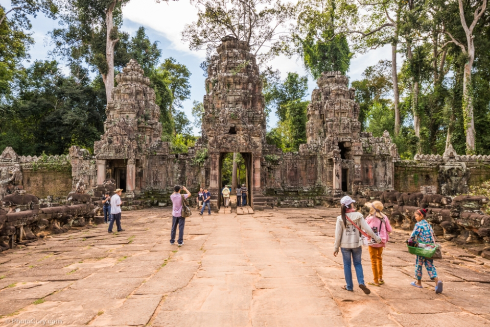 preah khan entrance