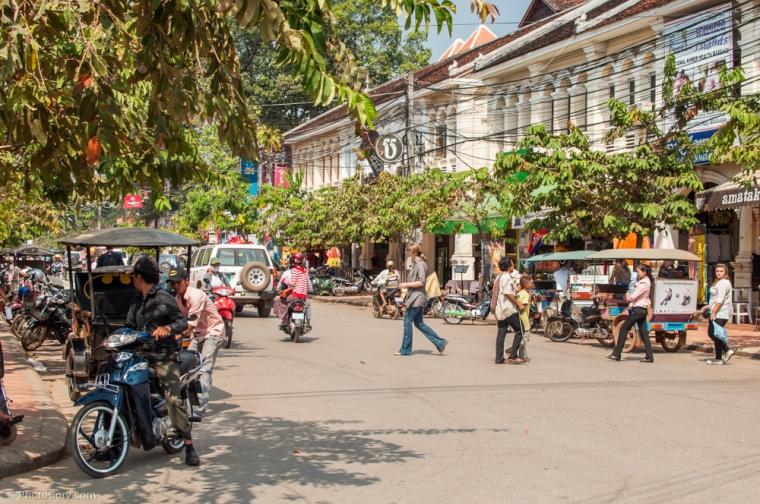 Street in Siem Reap