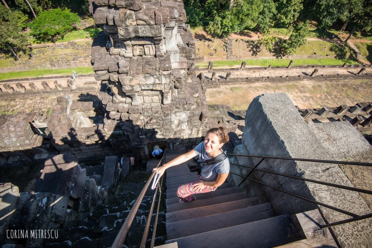 stairs climb baphuon