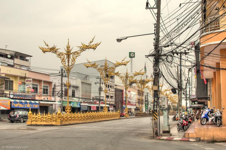 street chiang rai