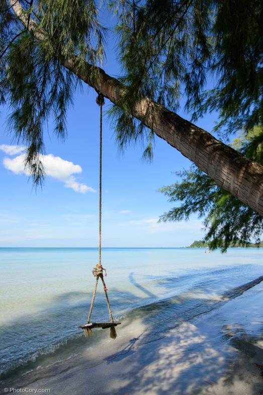 swing beach thailand