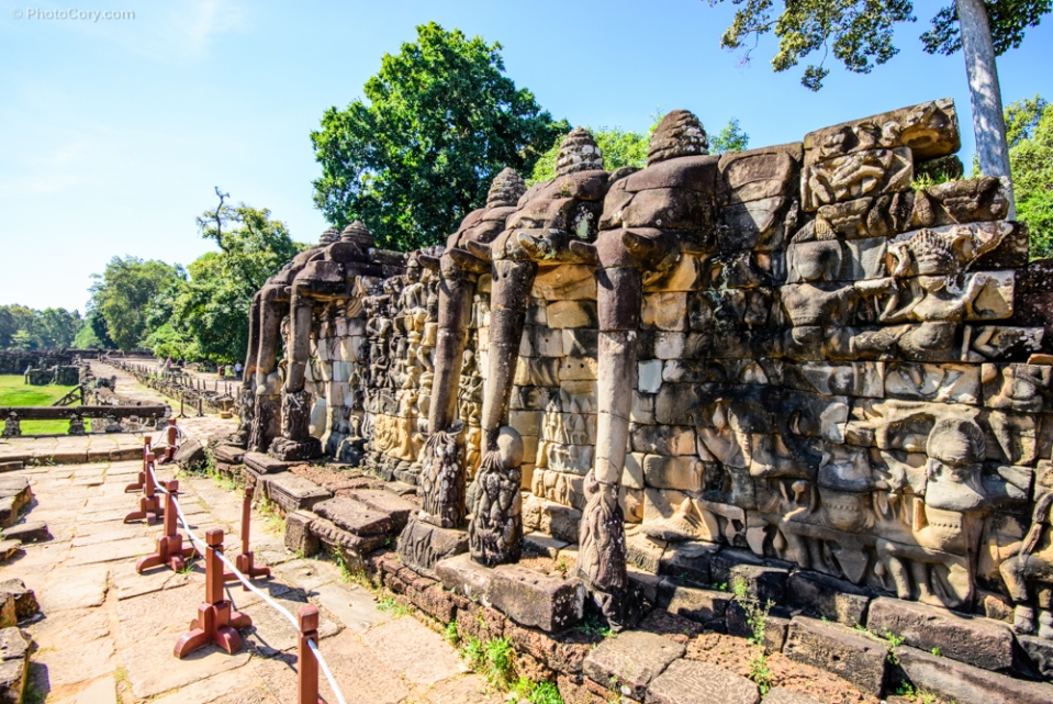 terrace of elephants angkor