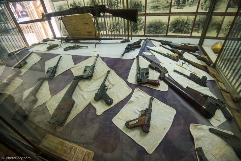 weapons World war two museum kanchanaburi