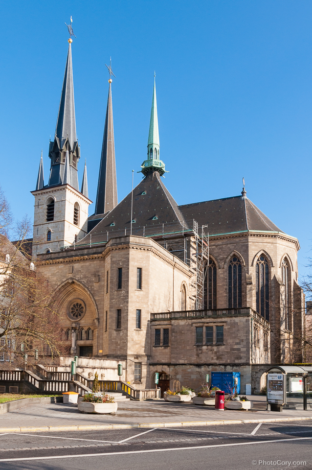 cathedral notre dame, luxembourg