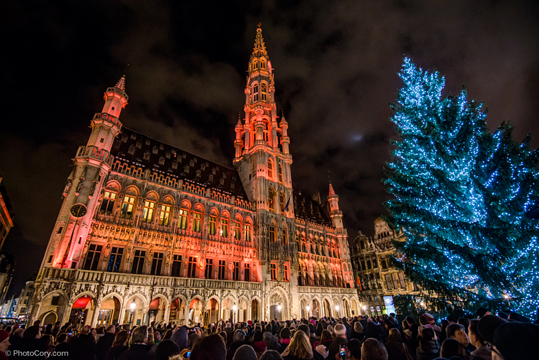 christmas grand place brussels 2013