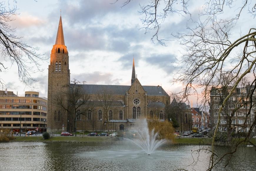 church flagey ixelles belgique