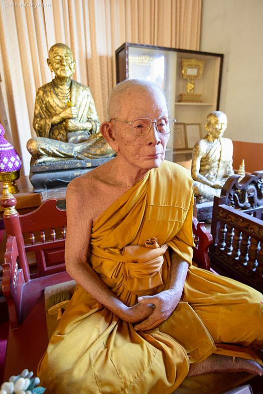 fiber glass monk chiang mai thailand