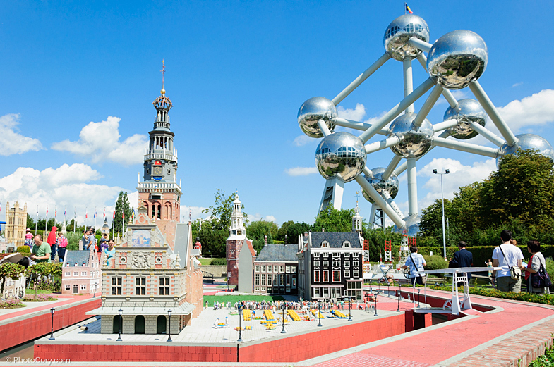 Mini Europe and Atomium