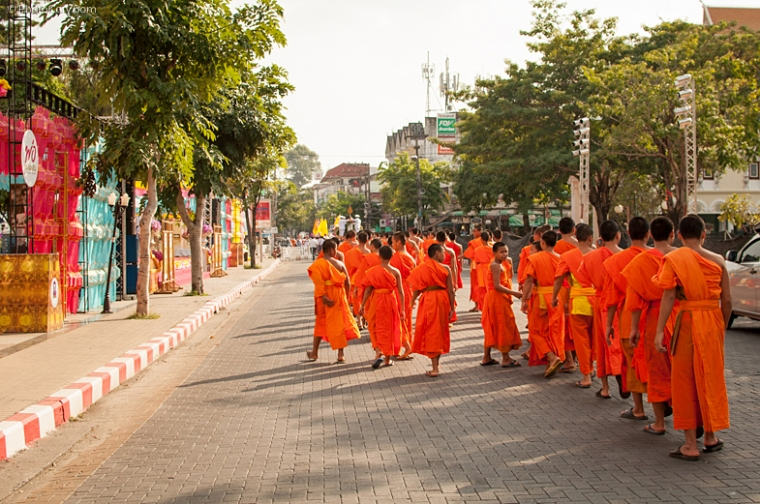 monks chiang mai