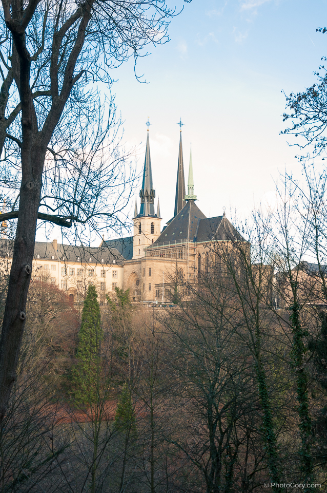 notre dame cathedral in luxembourg