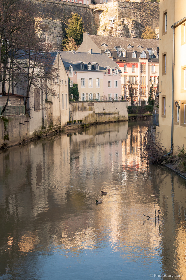 river luxembourg low city