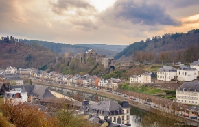 semois river and castle in Bouillon