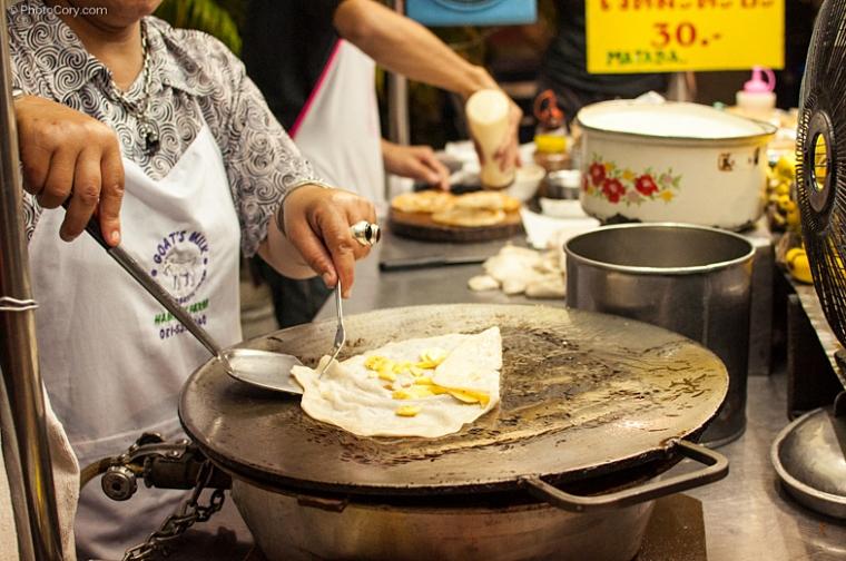 street food chiang mai thailand