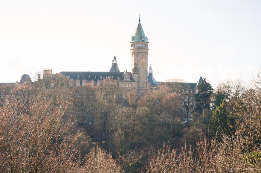 the clock tower, luxembourg