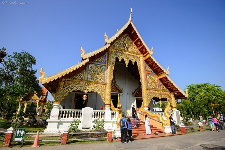 Wat Pra Singh Chiang mai thailand