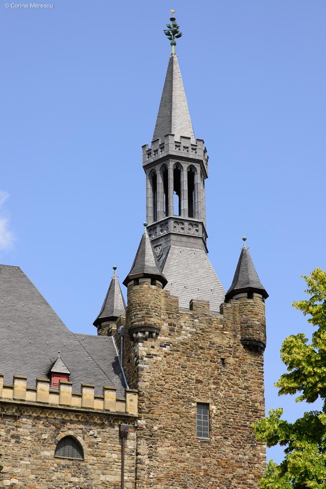aachen cityhall tower