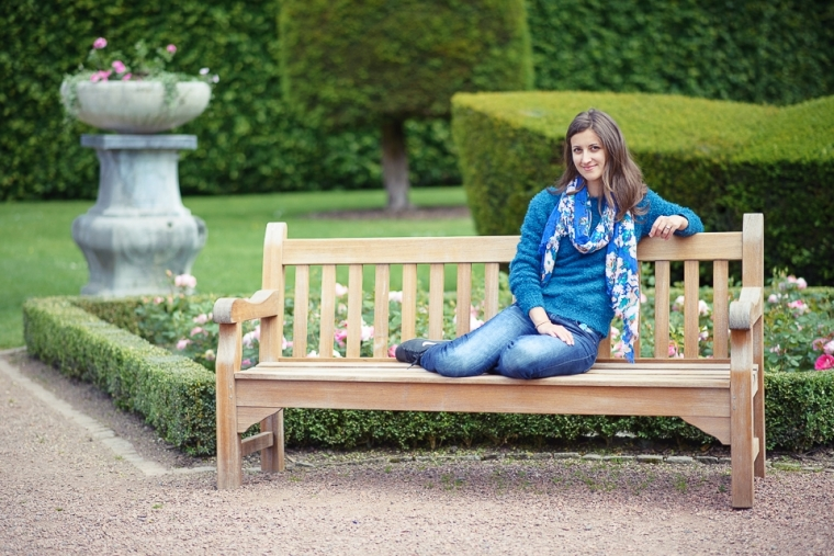 chateau jehay garden bench