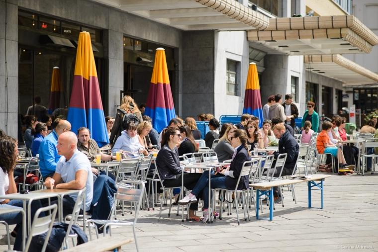 Cafe Belga Flagey Brussels