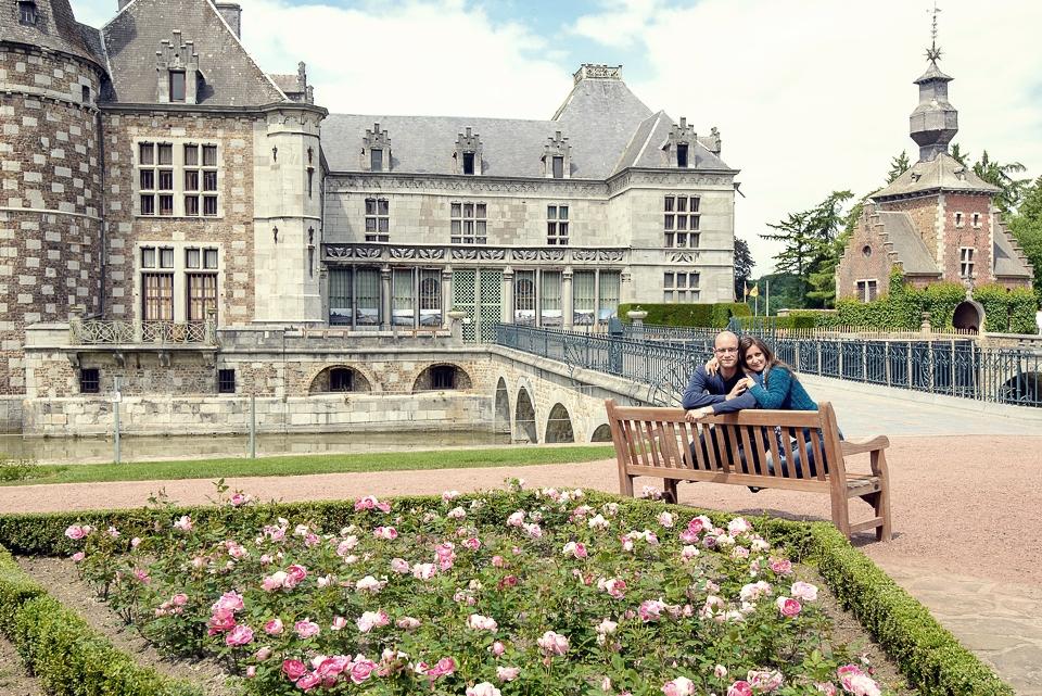 Jehay garden chateu castle belgium