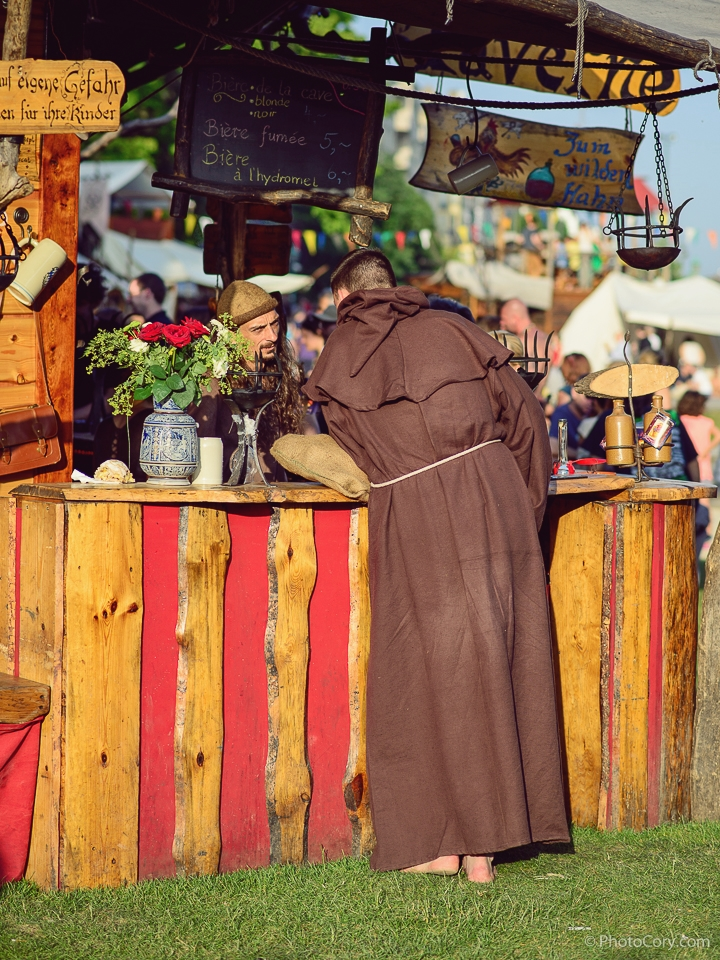 monk brown coat middle ages