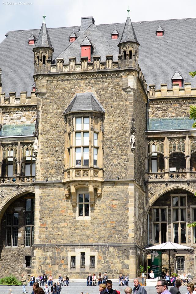 rathaus aachen cityhall in germany aachen