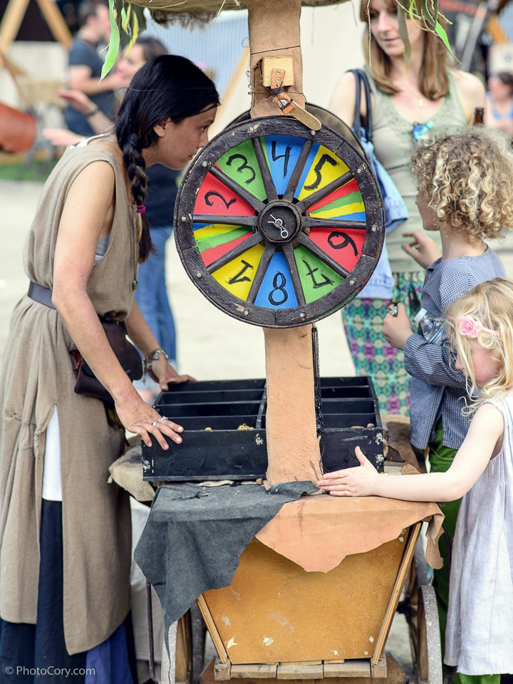 wheel of fortune medieval fair