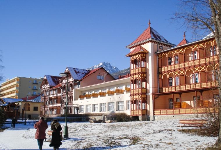 architecture high tatras slovakia