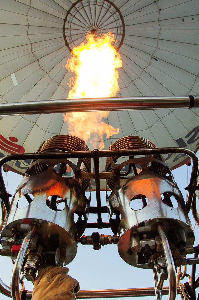 ballooning fire