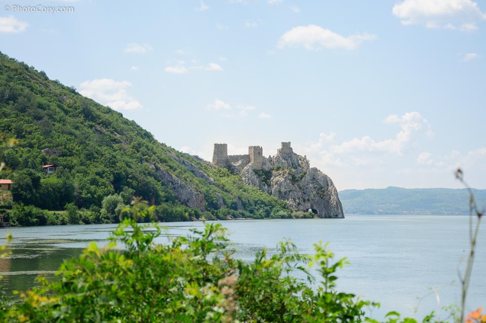 castle danube gorge Serbia, Golubac fortress